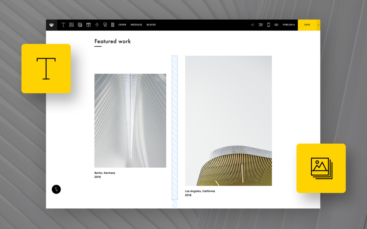 How to Create a One-Page Portfolio with Semplice - DESK Magazine