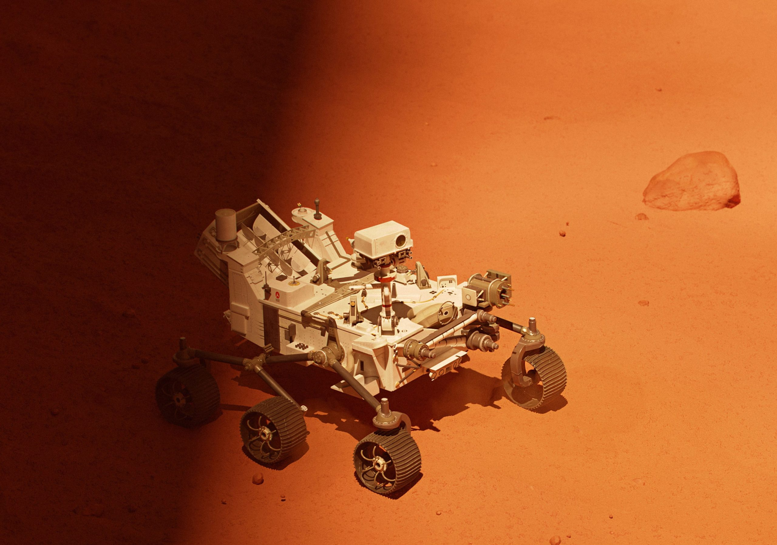 Mars 2020 Rover image by House of van Schneider